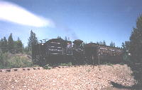 No. 3 and train enroute to Sumpter